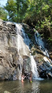 Cascada trekking