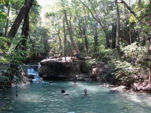 Saltos de agua de Erawan