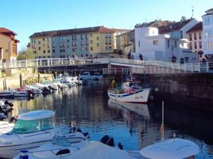 Barcos del puerto de Llanes