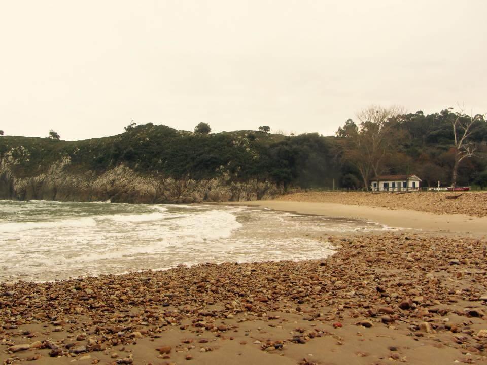 Visitando playas asturianas en invierno