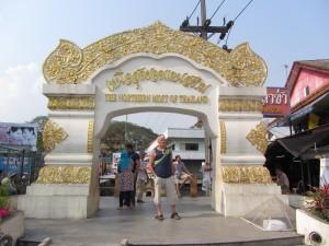 Frontera de Tailandia