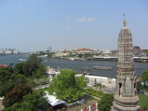 Wat Arun vistas