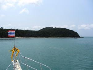 Barco por Tailandia