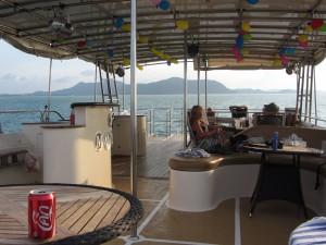 Barco en Tailandia