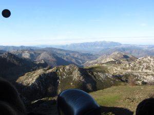 Subiendo a Covadonga
