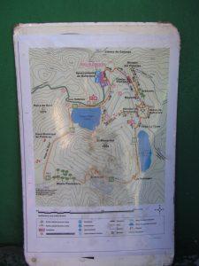 Mapa ruta Lagos de Covadonga