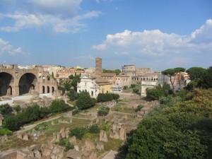 Palatino en Roma