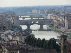 Vista panorámina Florencia