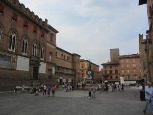 Plaza de Neptuno de Bolonia