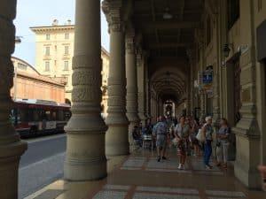 Via dell'Indipendenza en Bolonia