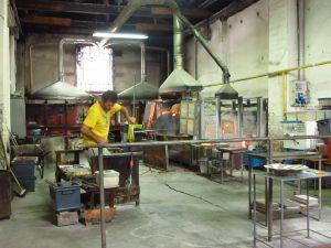 Fábrica vidrio de Murano