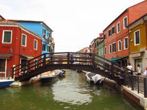 Puente de la isla de Burano