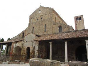 iglesia bizantina de Santa Fosca en Torcello