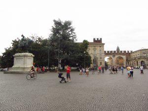 Vittorio Emanuelle II en Verona