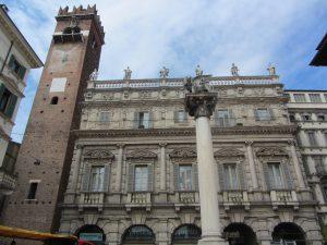 Columna de San Marcos en Verona