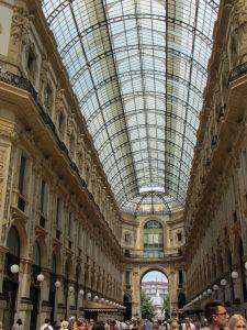 Galería comercial Vittorio Emanuel II en Viena