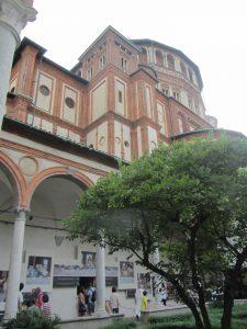 Santa María delle Grazie de Milán