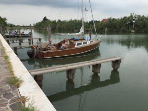 barco en Torcello