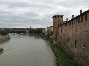 Vistas desde el  Castelvecchio de Verona