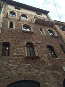 Fachada casa de Julieta en Verona
