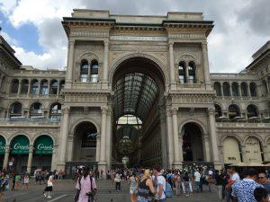 Galería comercial Vittorio Emanuel II de Viena