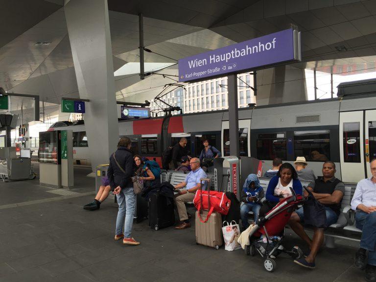 Estacion de tren interrail
