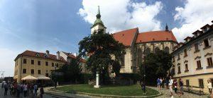 Plaza Catedral de San Martín de Bratislava