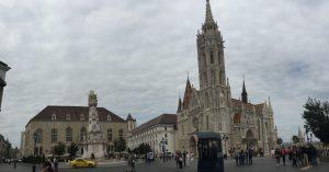 Plaza iglesia de Matías de Budapest