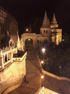 Buda de noche de Budapest