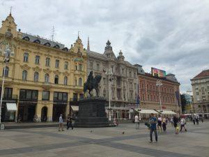 Plaza Ban Jelačić de Zagreb