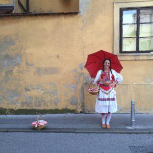 Chica de Zagreb