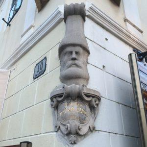 Detalle calle de Zagreb