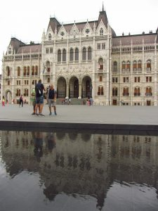 Parlamento entrada de Budapest