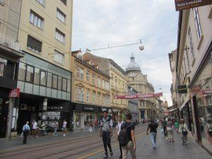 Calle Ilica de Zagreb