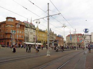 Plaza Ban Jelačić en Zagreb