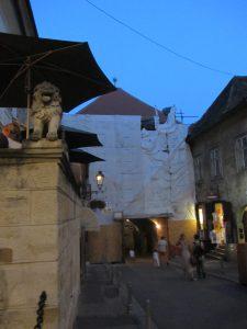 Puerta de piedra de Zagreb