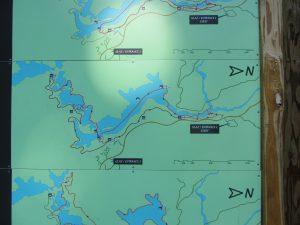 Mapa caminos Lagos de Plitvice