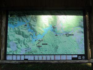 Mapa Lagos de Plitvice