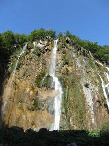 Cascada de Plitvice en Croacia