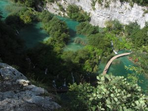 Lagos Inferiores de plitvice en Croacia