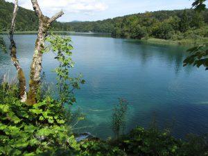 Lago Plitvice en Croacia