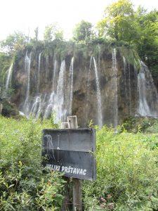 Cascada Prstavac Plitvice en Croacia