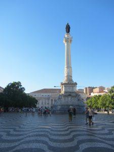 Plaza del Rossio Lisboa
