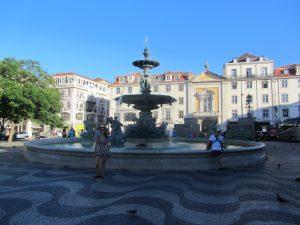 Plaza de Don Pedro IV Lisboa