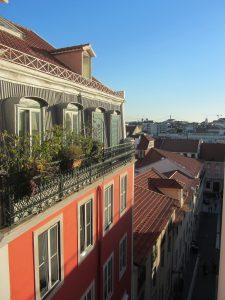 Vistas desde el elevador Castelo Lisboa