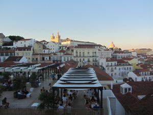 Barrio de Alfama Lisboa vistas