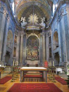 Basílica da Estrela interior, Lisboa