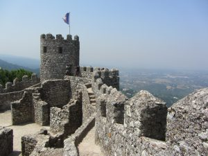 Torre Real castelo dos mouro