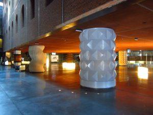 Columnas del Azkuna Zentroa