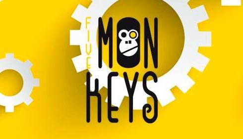 Juego de escape en 69 minutos: The Five Mon-Keys